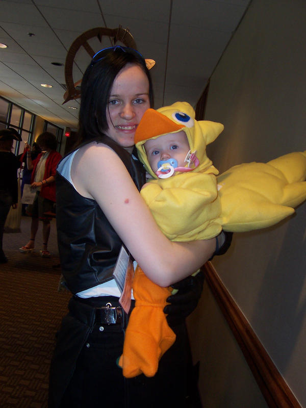 Chocobo baby and Tifa by AnH0nestMistake ...  sc 1 st  AnH0nestMistake - DeviantArt & Chocobo baby and Tifa by AnH0nestMistake on DeviantArt