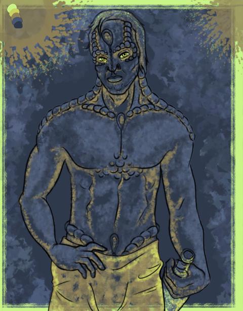 kanar with Damar by Mythtress