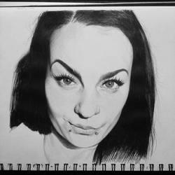 portrait from a selfie 18