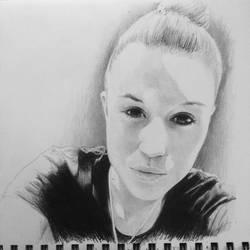 Portrait from a selfie 23