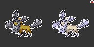 Rock Type Glaceon Sprite