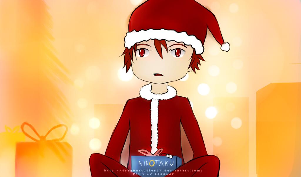 X-Mas gift [Original - Ninotaku Gewinnspiel] by DragonStudios94