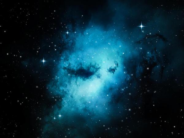 Blue Nebula by Duef on DeviantArt