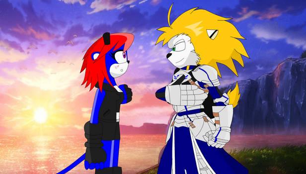 Jucina meets Saber
