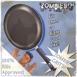 Zombie Grits: Ellis Approved by Ikimono1