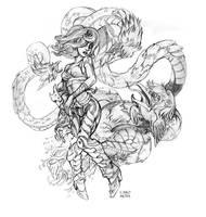 Summon the Beasts by mishinsilo
