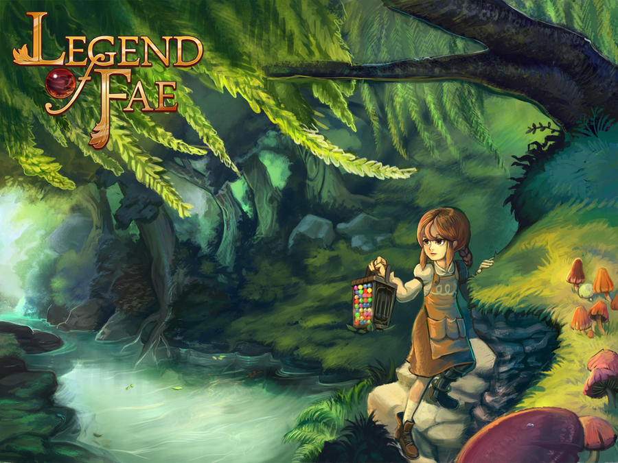 Legend of Fae Title art by mishinsilo