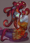 cheveux pieuvre