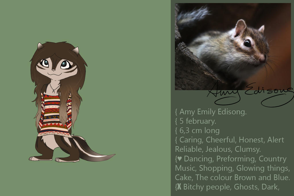 Amy Reference Sheet by Amy1Jade2Wendy3