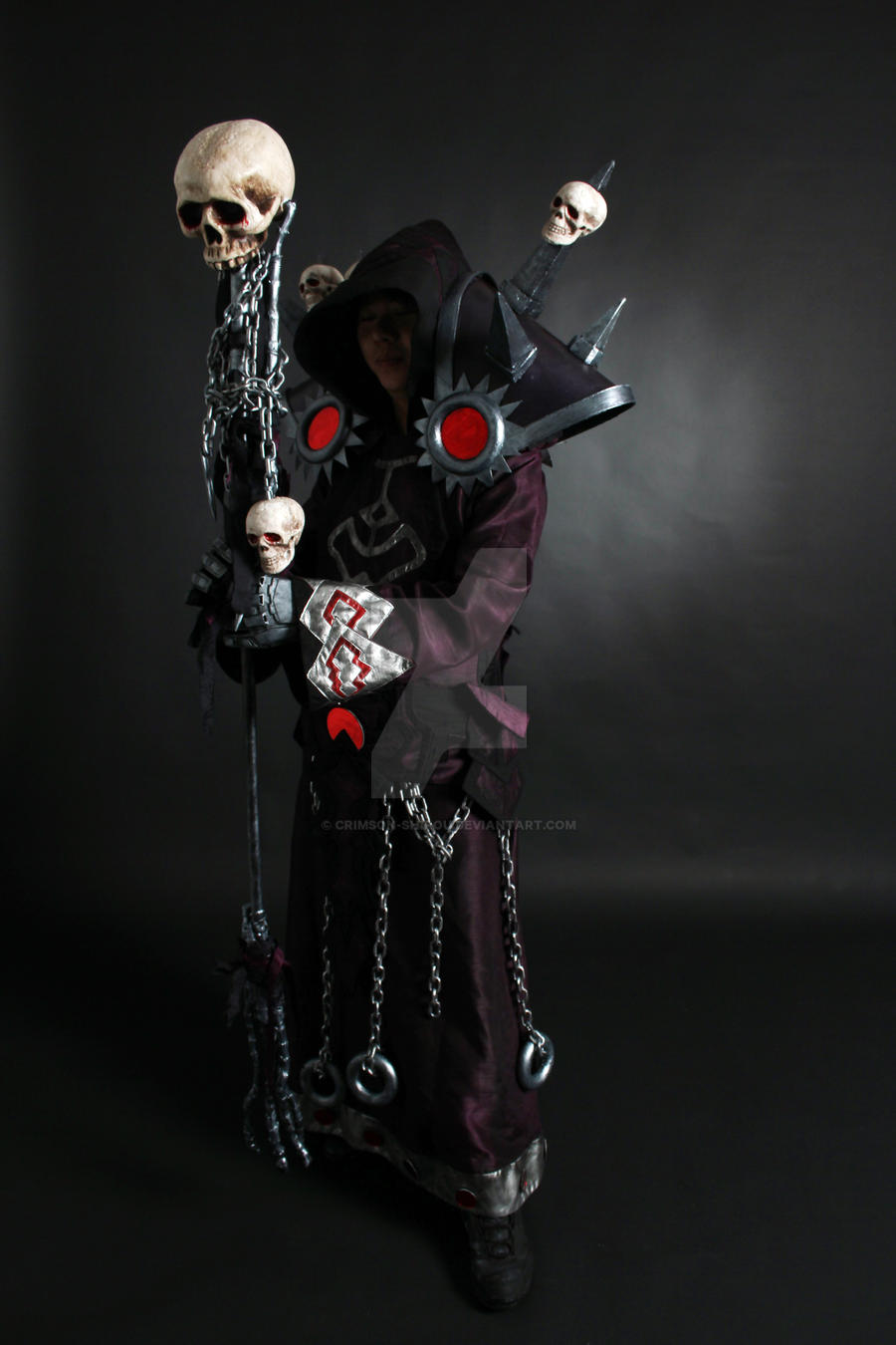 WOW Warlock T5 Cosplay 3 by Crimson-Shirou