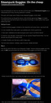 Steampunk Goggles Tutorial by Crimson-Shirou