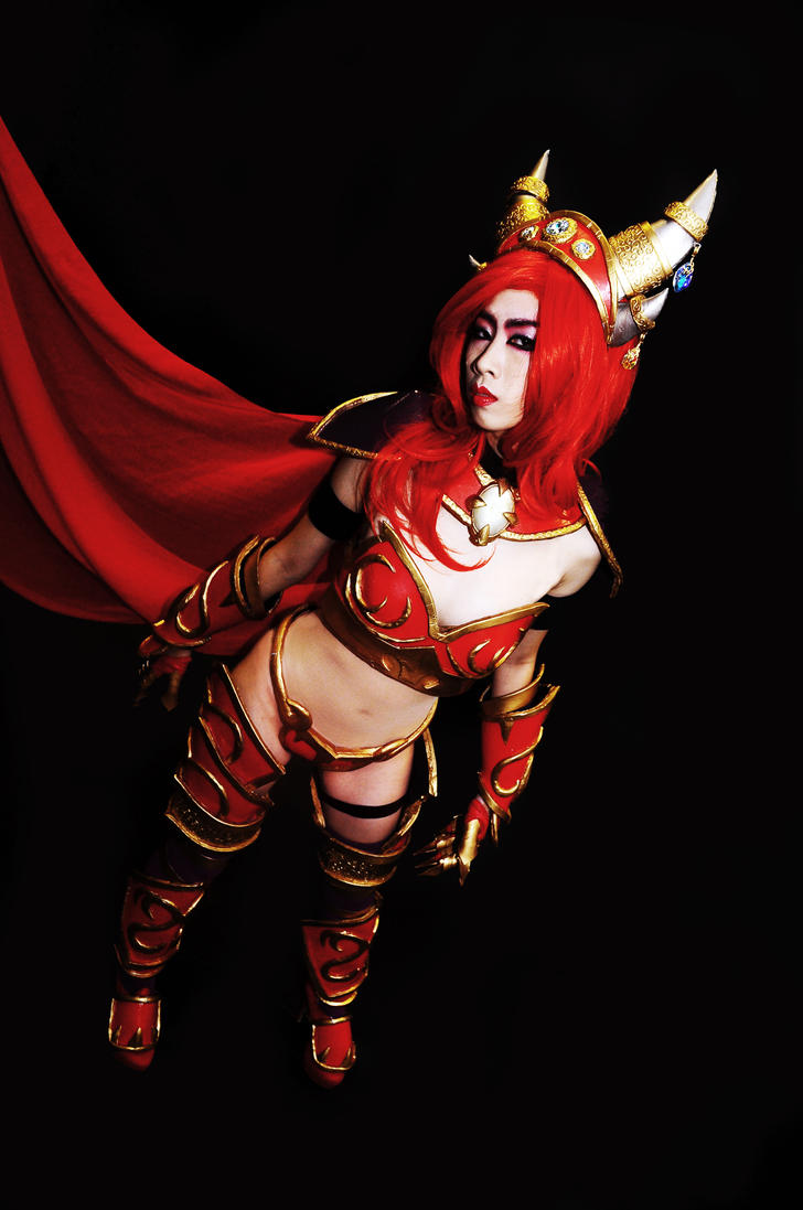 Alexstrasza the Life-Binder by Crimson-Shirou