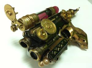 Steampunk Firestrike NERF Pistol