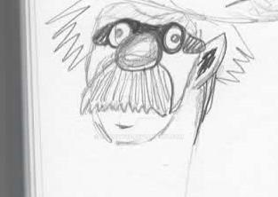 Rando Doodle Scientist by Le-Smittee