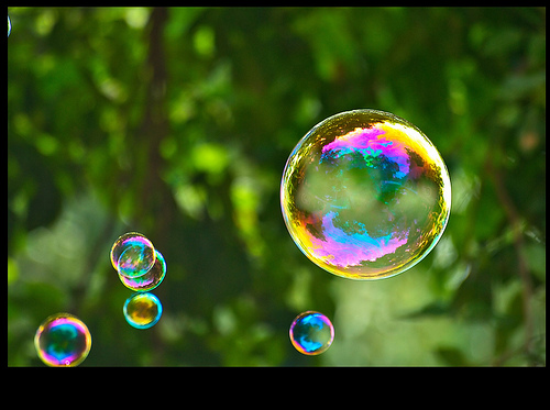 Flying bubbles by CurlyDeea on DeviantArt