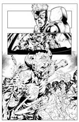 X-MEN GOLD #25 (sample) by QueplerArts-Inker1