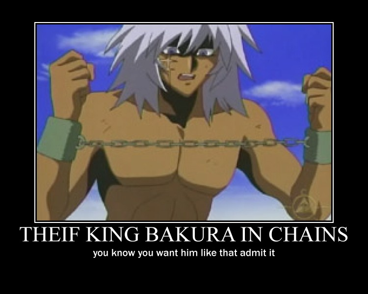 Theif king bakura motivator by Amarra016