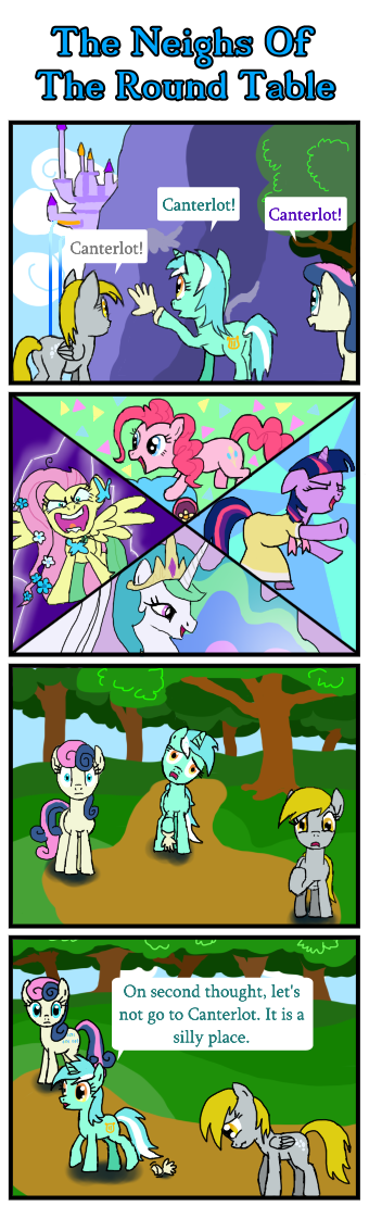 The Neighs Of The Round Table by Daasaeugen
