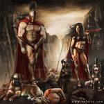 Spartan warriors - 300 tribute