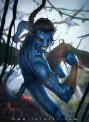Avatar Fan Art: Jake - final by rafater