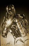 Iron man sketch 03