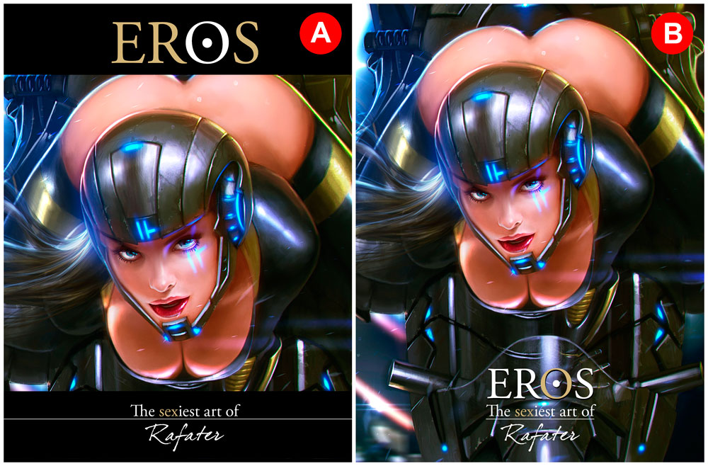 EROS: The sexiest art of Rafater - A or B? by rafater