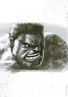 Hulk Sketch by rafater