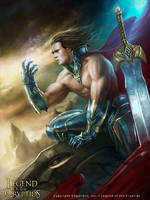 Legend of the Cryptids - Aloof Swordsman Dionigi by rafater