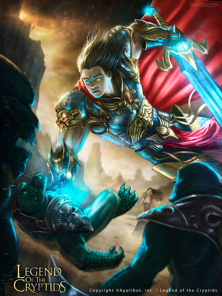 Legend of the Cryptids - Aloof Swordsman Advanced by rafater