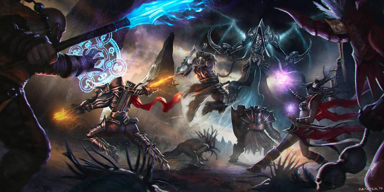 diablo III Reaper of souls contest - Rafater by rafater