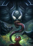 Venom and Spiderman