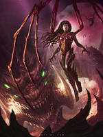 Blizzcon Art Contest 2014 Kerrigan By Rafater