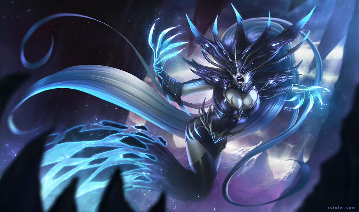 Lissandra - League of Legends by rafater on DeviantArt