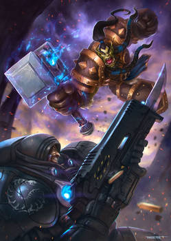 Heroes of the Storm contest: Thrall vs. Raynor