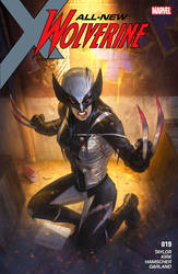 All new Wolverine cover