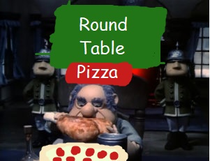 Where Is Round Table Pizza.Santa Claus Is Comin To Town Round Table Pizza By Sirhandel12 On