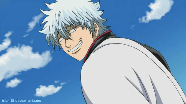 Gintoki Evil Smile