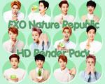 140604 EXO NATURE REPUBLIC HD RENDER PACK~