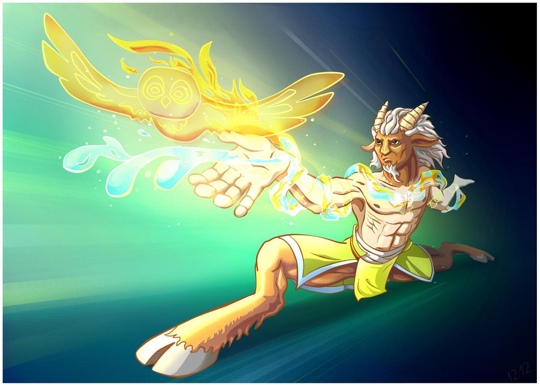Magician elements by Koshshshka