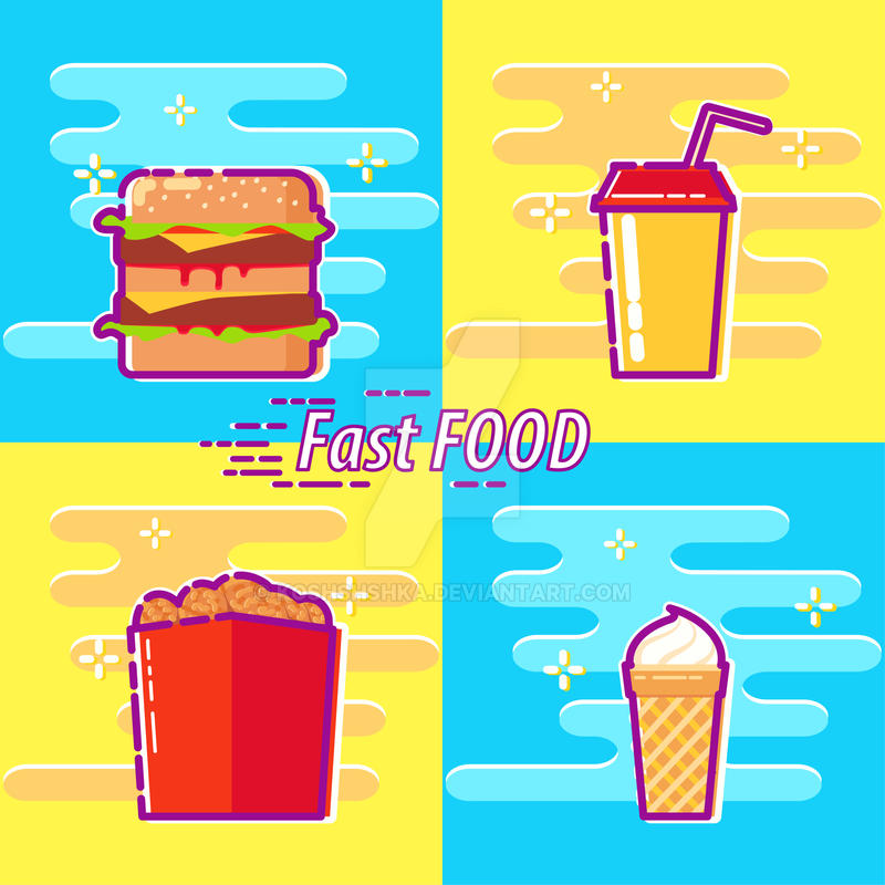 Fast Food by Koshshshka