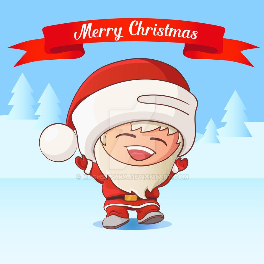 Santa by Koshshshka