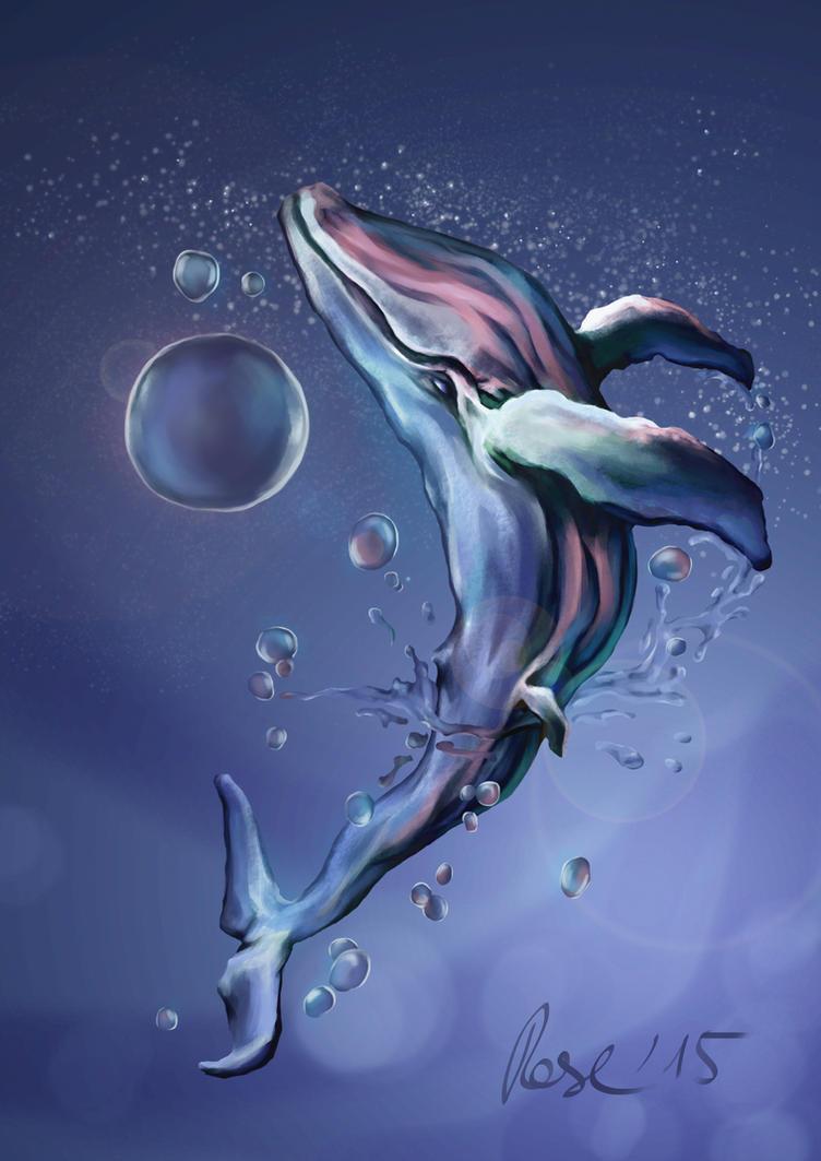 celestial humpback by MrBonecracker