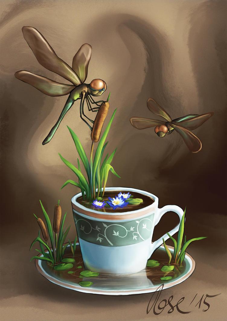 dragonflies by MrBonecracker