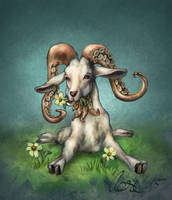 The Great Goathulhu by MrBonecracker