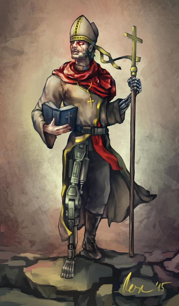 The Pontificator by MrBonecracker