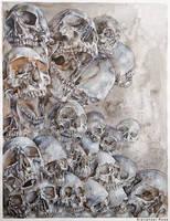some skulls by MrBonecracker