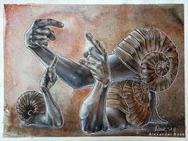 three snailthings by MrBonecracker