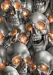 Skulls by MrBonecracker