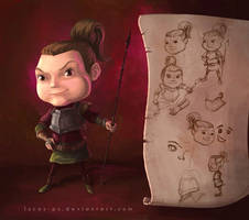 The Daughter by LucasParolin