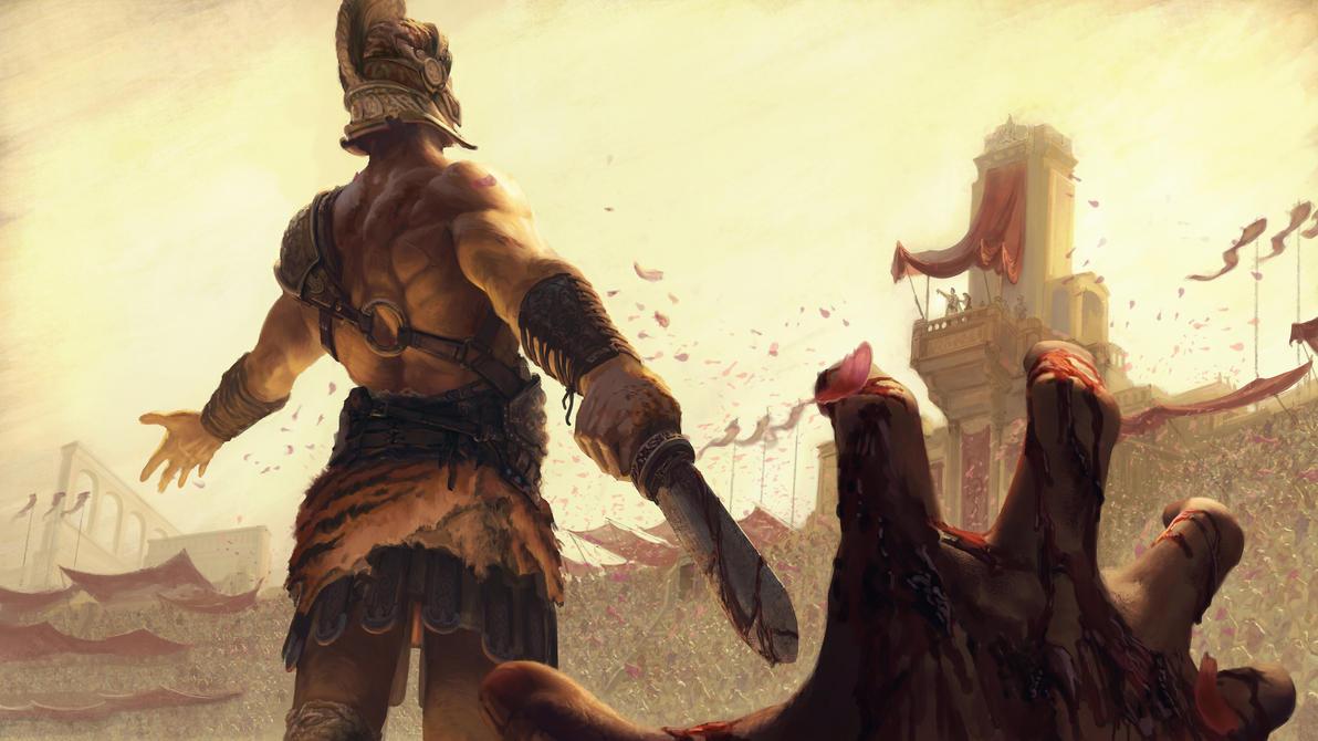 Two sides of a Battle by LucasParolin